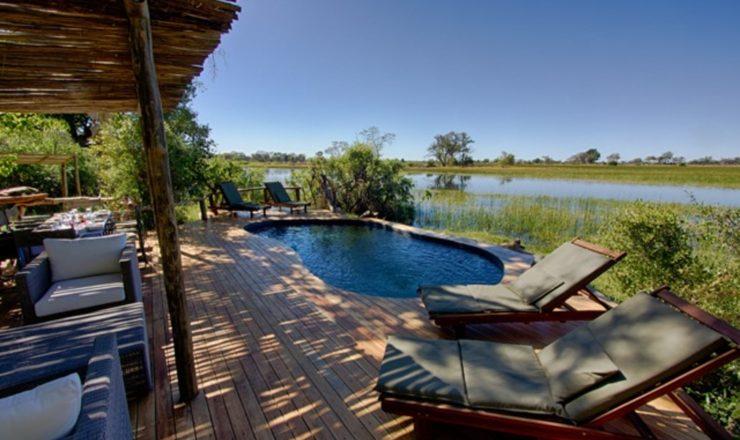 Camps Kujwana Mkolowane - La piscine