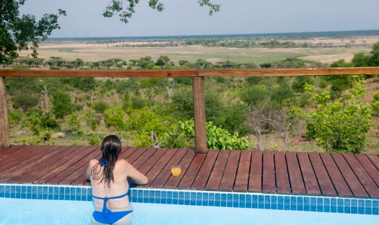 Chobe Elephant Camp - La piscine