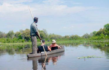 Delta de l'Okavango - Sortie en Mokoro