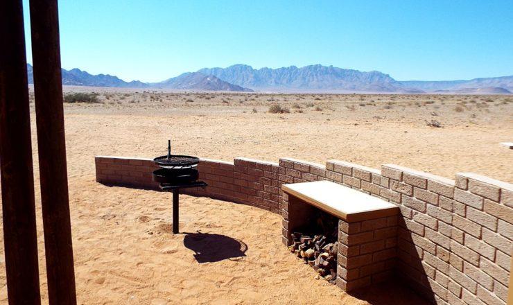 Desert Camp - Espace extérieur