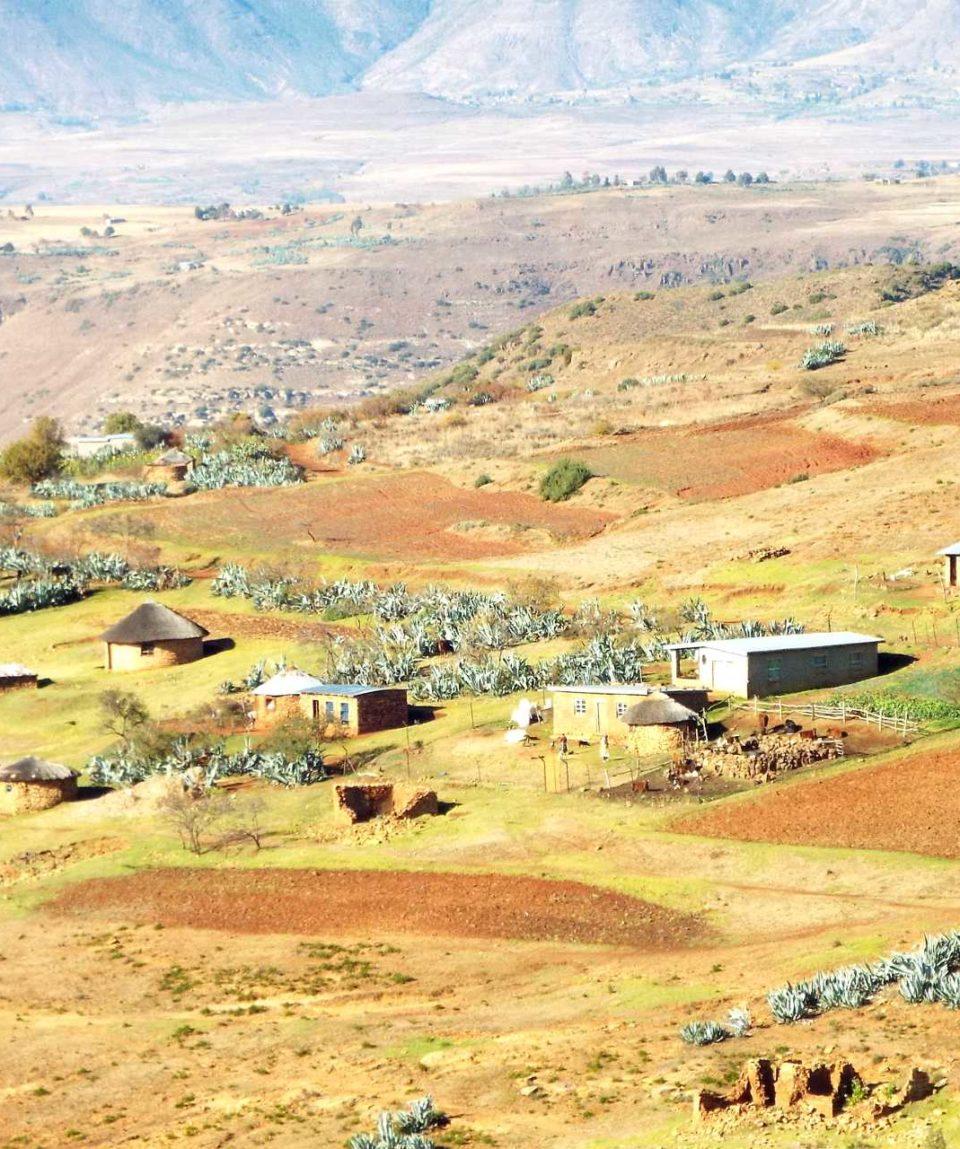 En passant par le Lesotho