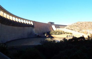 Gariep Dam - Le barrage
