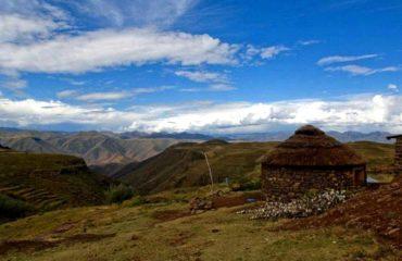 Lesotho - La région de Semonkong