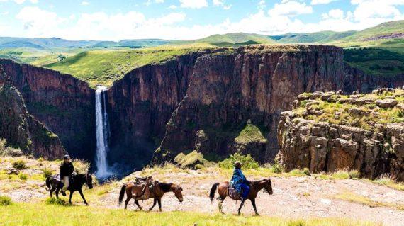 Lesotho - Maletsunyane Falls
