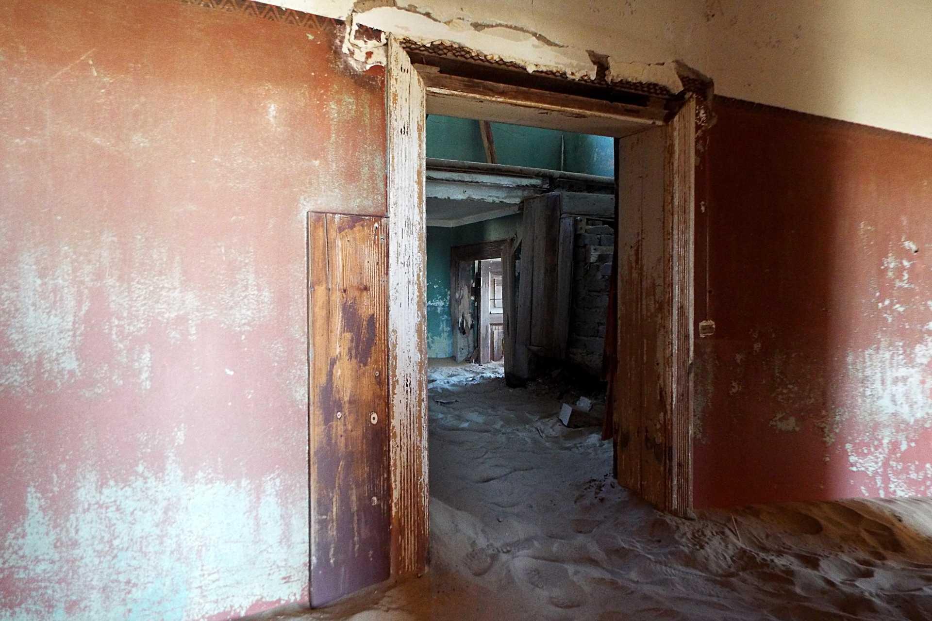 Lüderitz - Kolmanskop - La ville fantôme