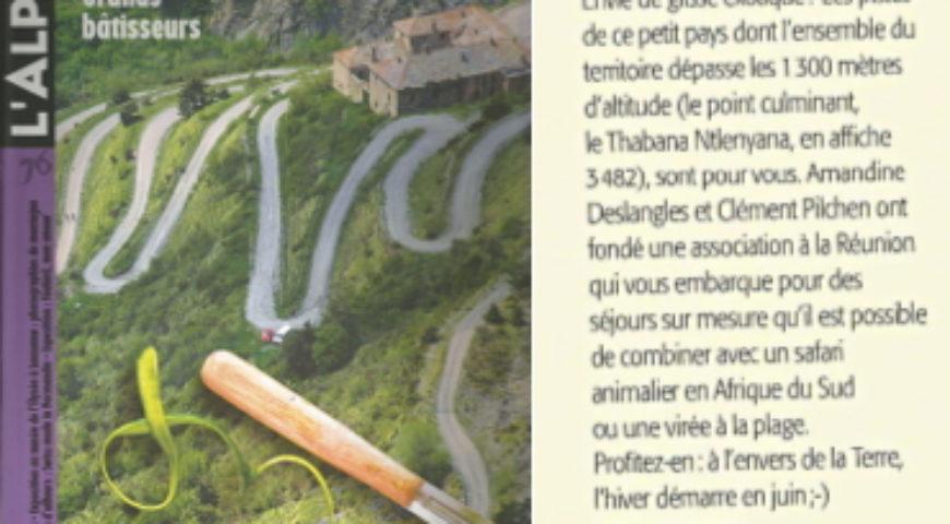 Magazine L'Alpe