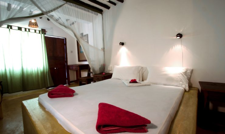Red Monkey Lodge - chambre double