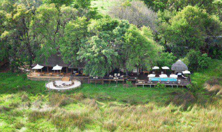 Sanctuary Chief's camp - Vue du ciel