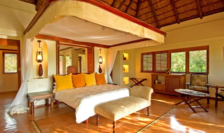 Sanctuary Chobe Chilwero - La chambre
