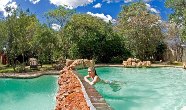 Sanctuary Chobe Chilwero - La piscine