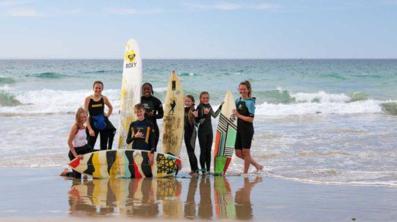 Séjour linguistique Anglais pour les adolescents - Activité Surf
