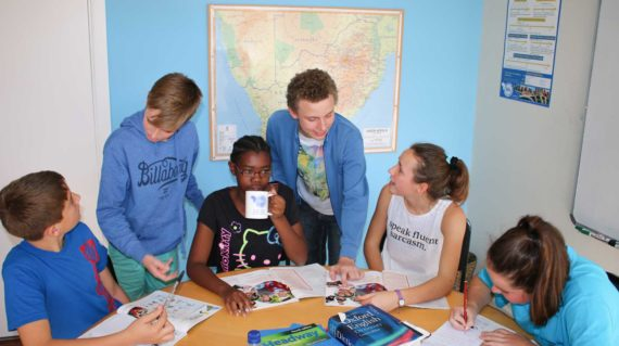 Séjour linguistique Anglais pour les adolescents - Cours d'anglais