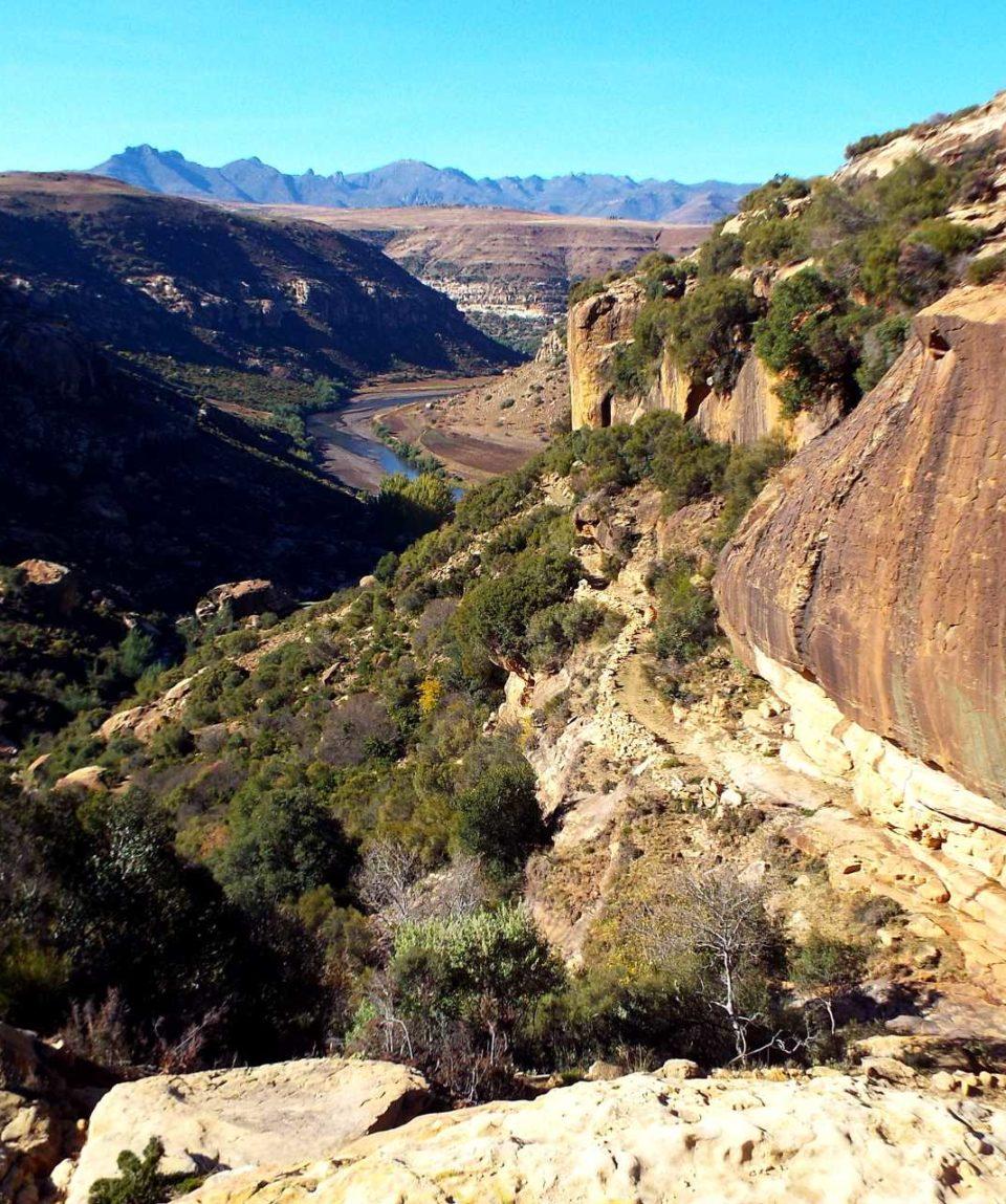 Trek au Lesotho