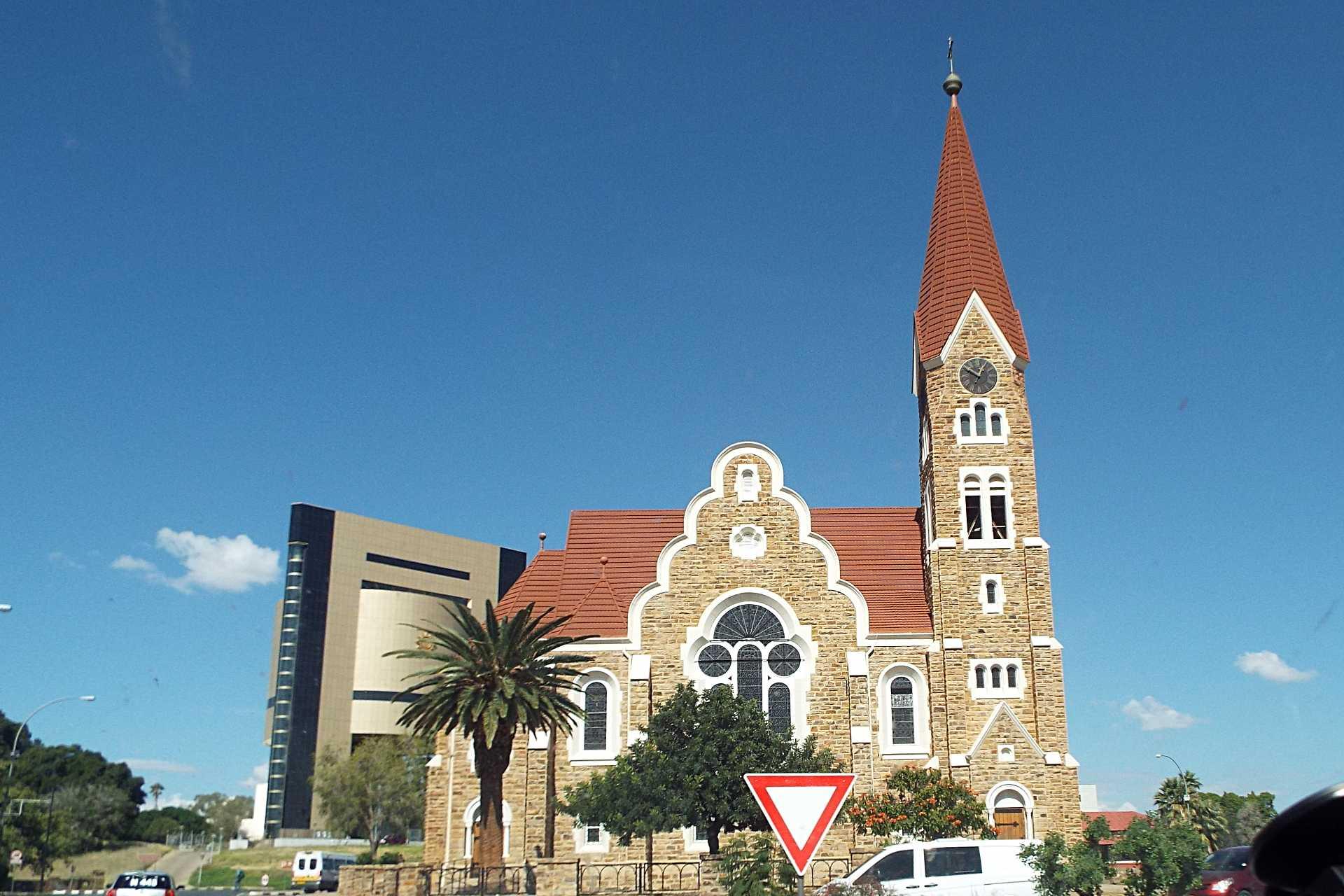 Windhoek - Les bâtiments historiques