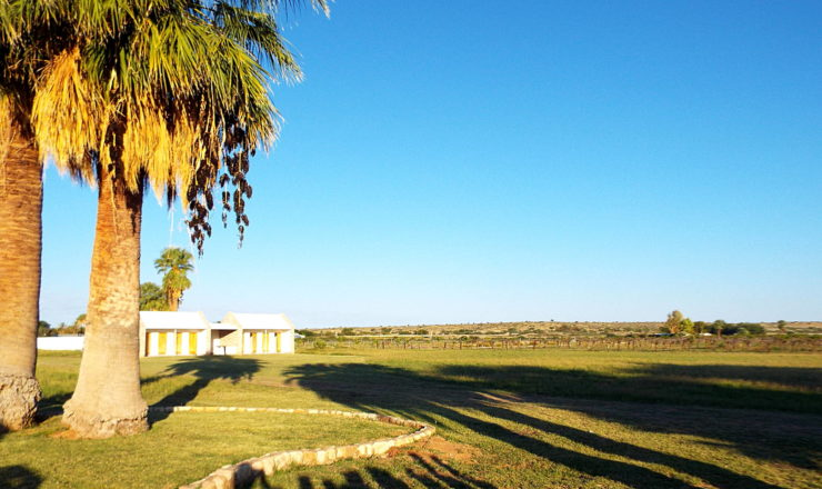 Kalahari Farmhouse - camping