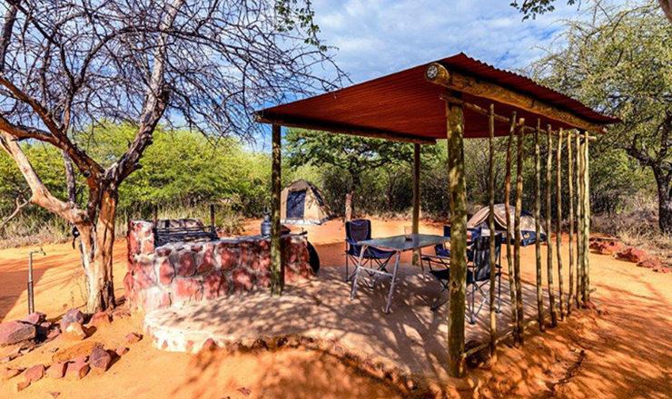 Waterberg Plateau Campsite - Camping