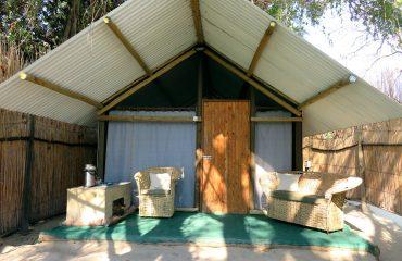 Maun - The Old Bridge - chambre double extérieur