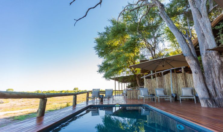 Savute Safari Lodge - piscine