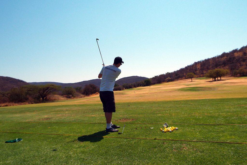 Suncity - initiation au golf