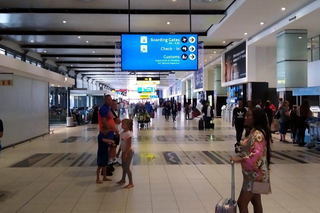 Terminal A Johannesburg OR Tambo