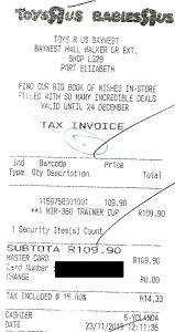 facture TVA avec erreur