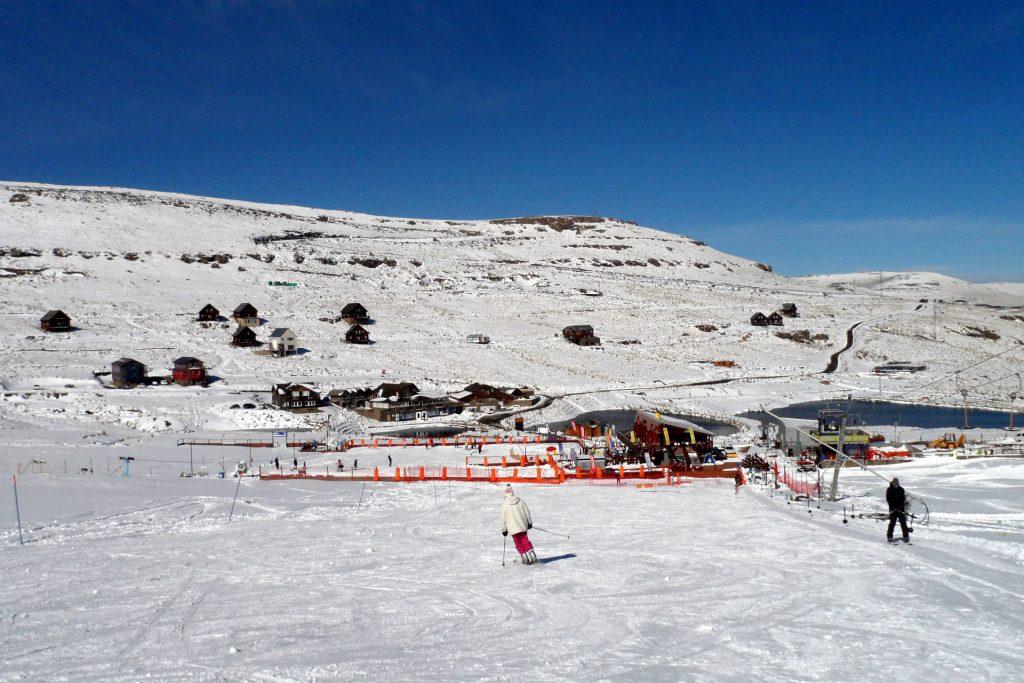 Lesotho - Afriski - piste intermédiaire