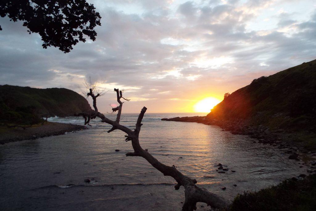 Afrique du Sud - Coffee Bay - Levé du soleil