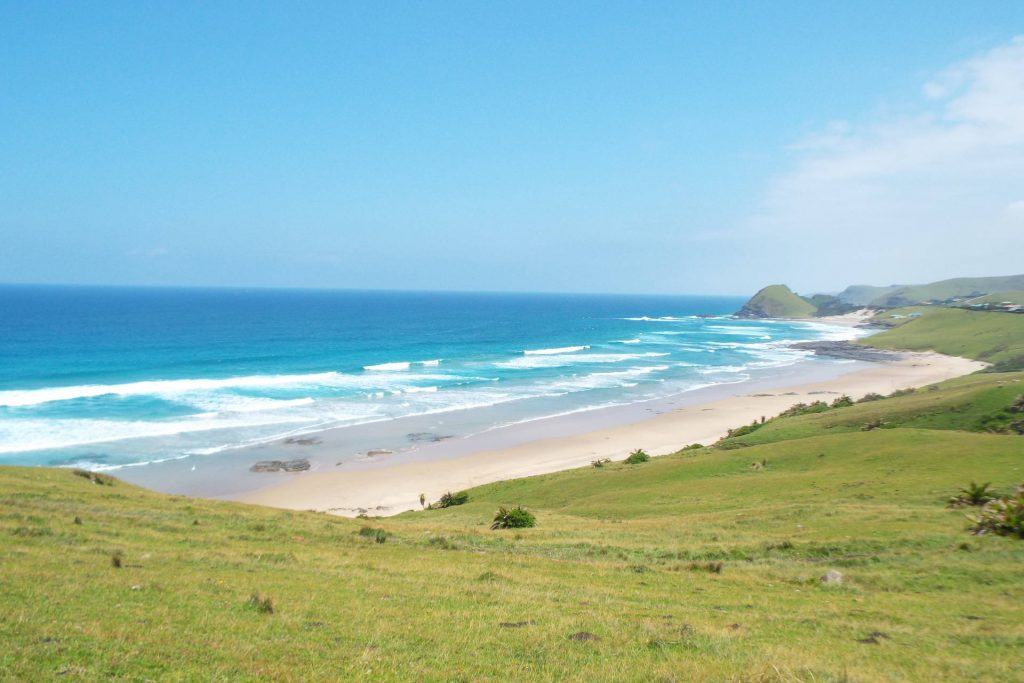 Afrique du Sud - Coffee Bay - Grande plage
