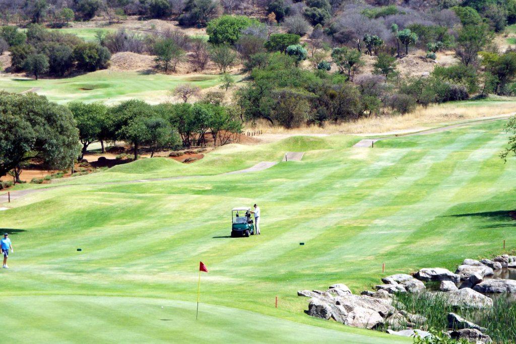 Afrique du Sud - Suncity - golf
