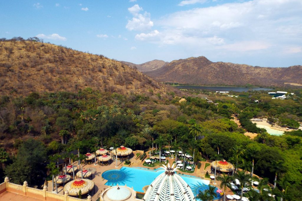 Afrique du Sud - Suncity - piscine de the Palace