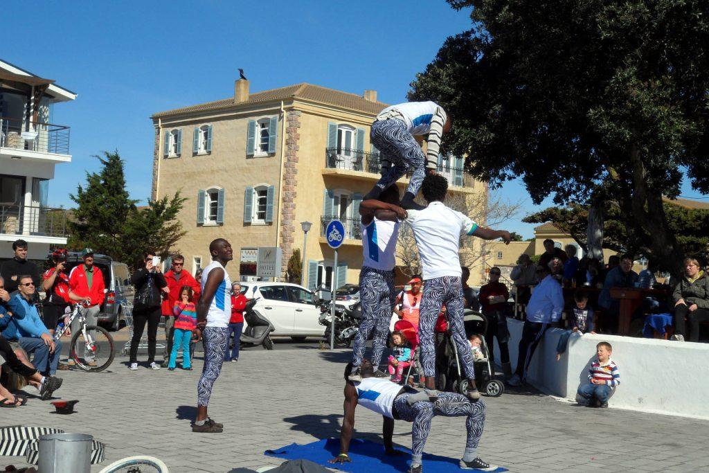 Hermanus - Whale Festival - show dans la rue