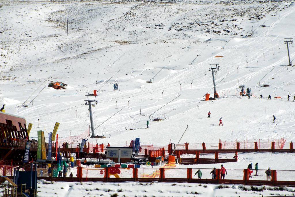 Lesotho - Afriski - en bas des pistes