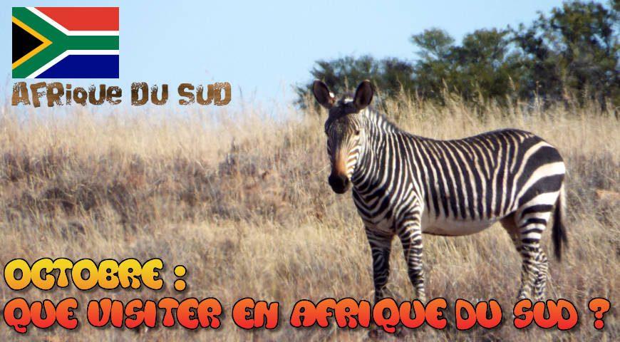 Que visiter en Afrique du Sud au mois d'Octobre