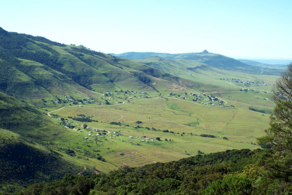 Afrique du Sud - Hogsback - point de vue
