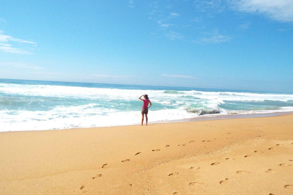 Afrique du Sud - Durban - plage à The Bluff