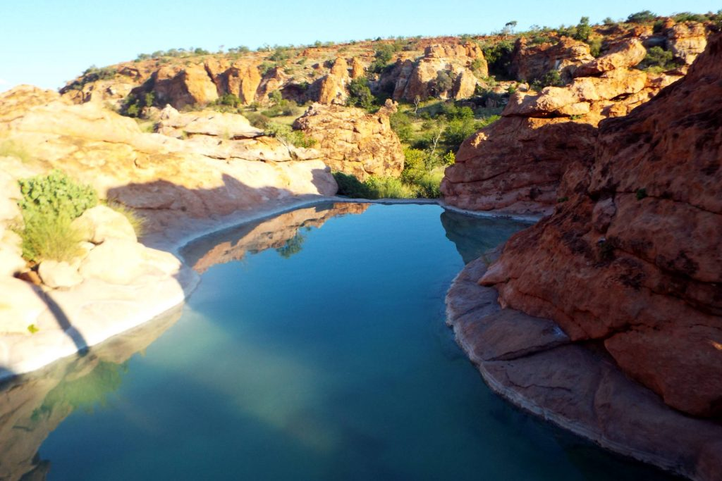 Afrique du Sud - Mapungubwe - piscine
