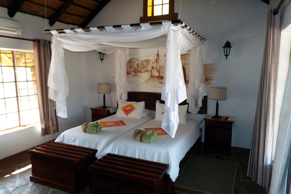 Namibie - chambre dans un lodge