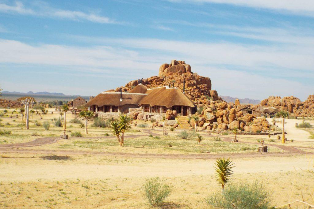 Namibie - lodge