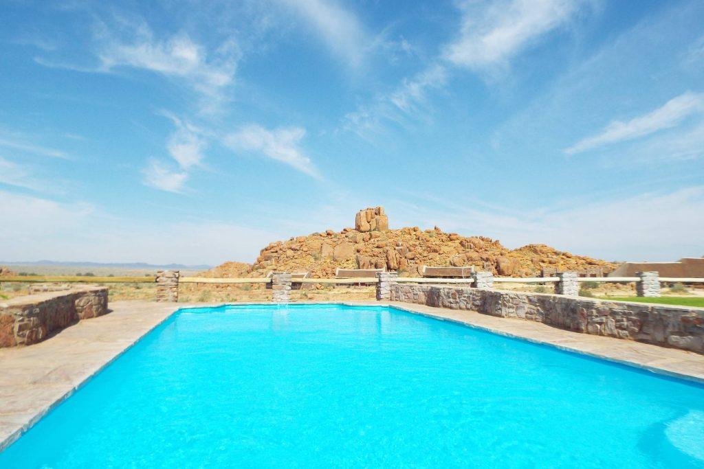 Namibie - piscine